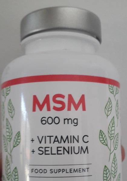 MSM uztura bagātinātājs